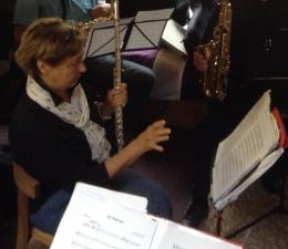 Marino à la flûte